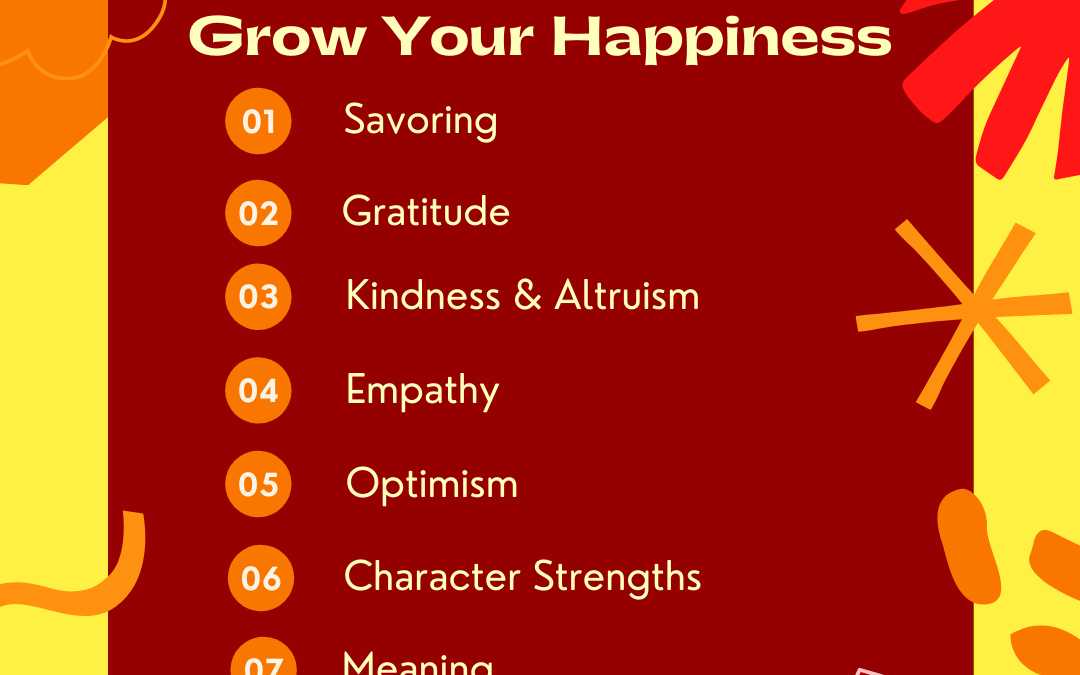 7 Ways to Change and Sustain Happiness